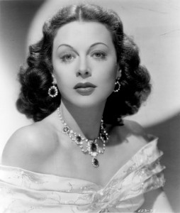 Publicity photo of Hedy Lamarr