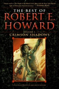 Cover art for The Best of Robert E. Howard: Crimson Shadows