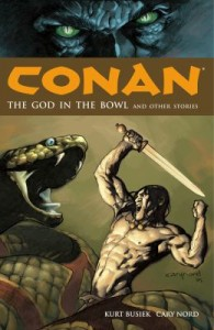 Cover art for Conan: the God in the Bowl and Other Stories