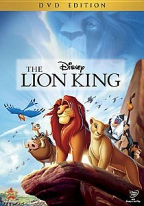 Lion King DVD cover art.