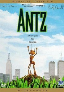 Antz DVD cover art