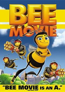 Bee Movie DVD cover art.