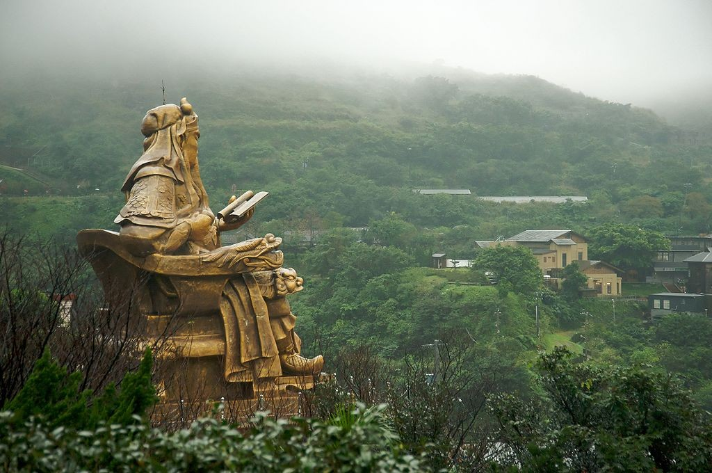 Guan Yu reading