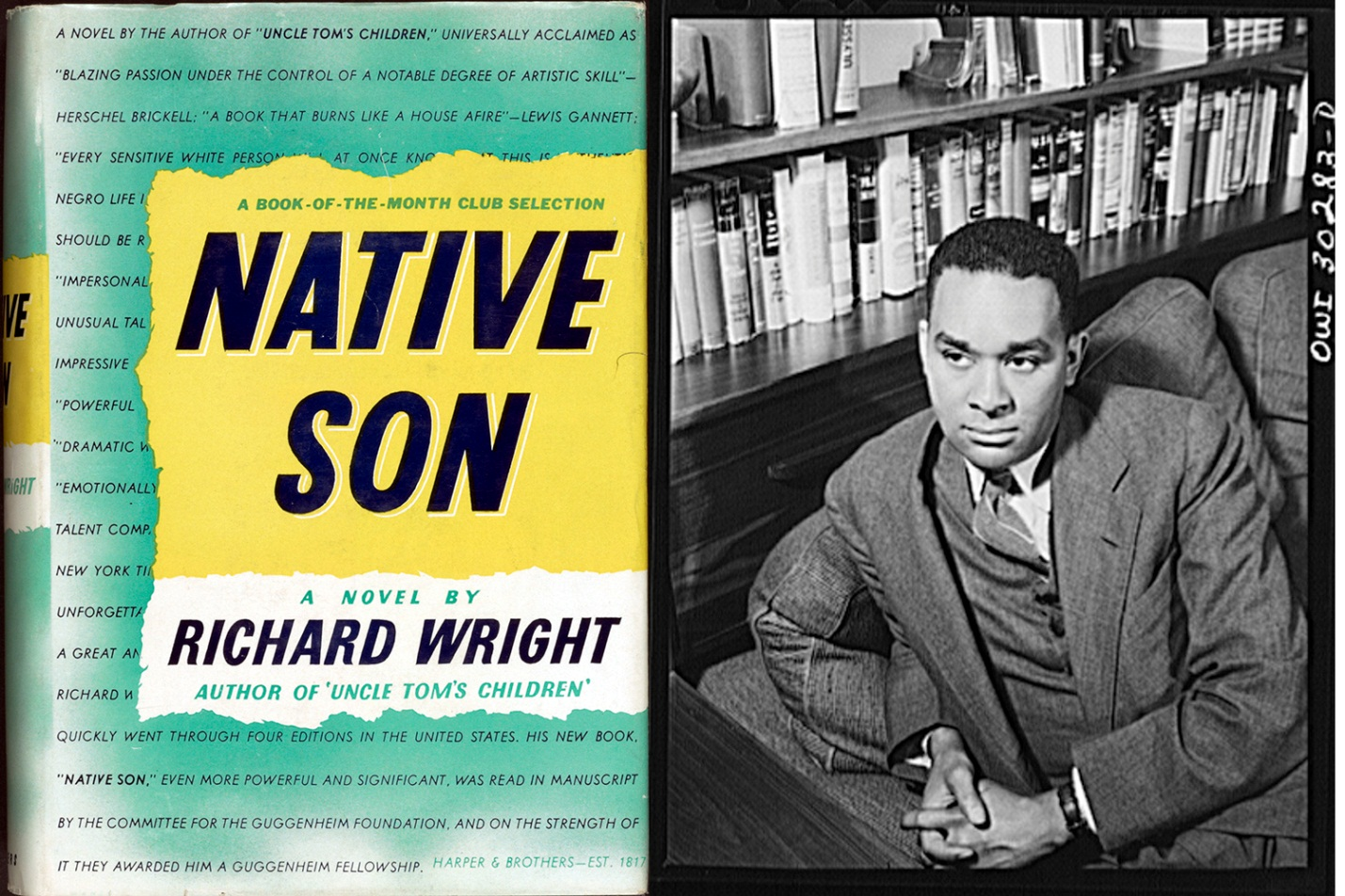 an analysis of native son a novel by richard wright