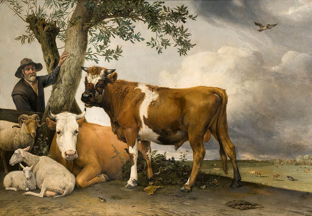 Paulus Potter - The Young Bull, 1647