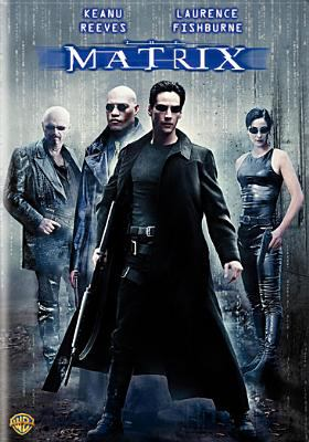 Cover of The Matrix DVD.