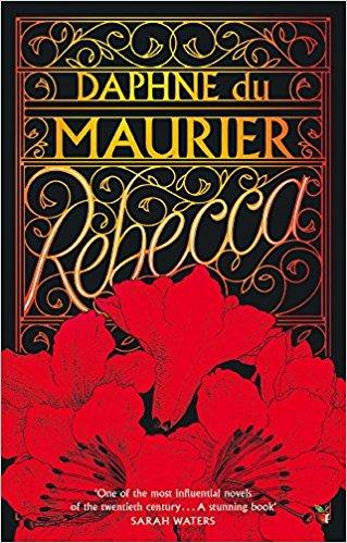 Cover of the Virago Modern Classics edition, with the title in gold above bright red flowers.