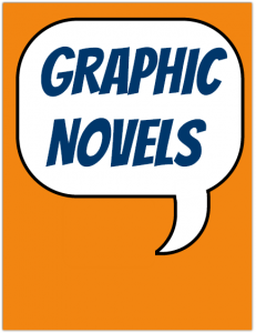 Display Sign for Graphic Novels