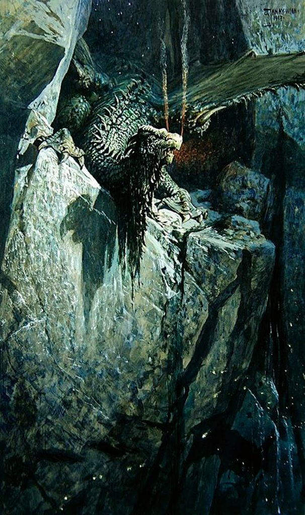 The Dragon's Cave by Georg Janny, 1917