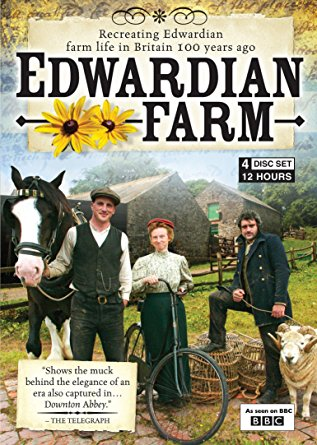 Picture of the cover of Edwardian Farm, the DVD.